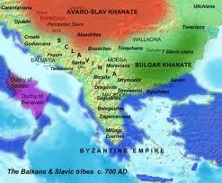 vizantija karta