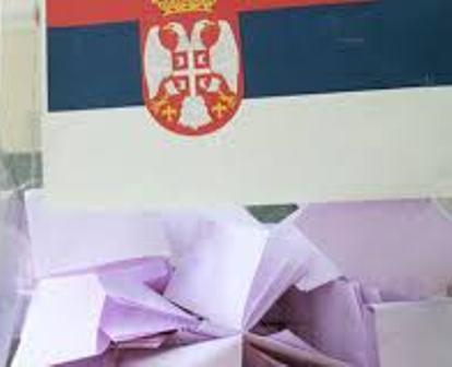 избори кутија са заставом